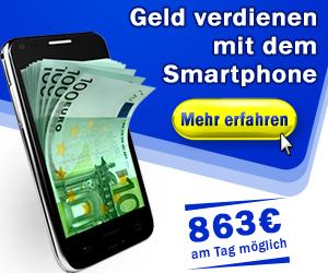Geld verdienen mit deinem Smartphone