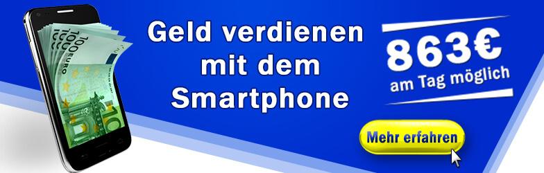 Geld verdienen mit dem Smartphone