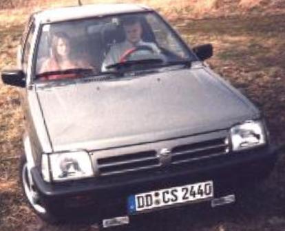 Gunnar Kessler im Nissan Micra